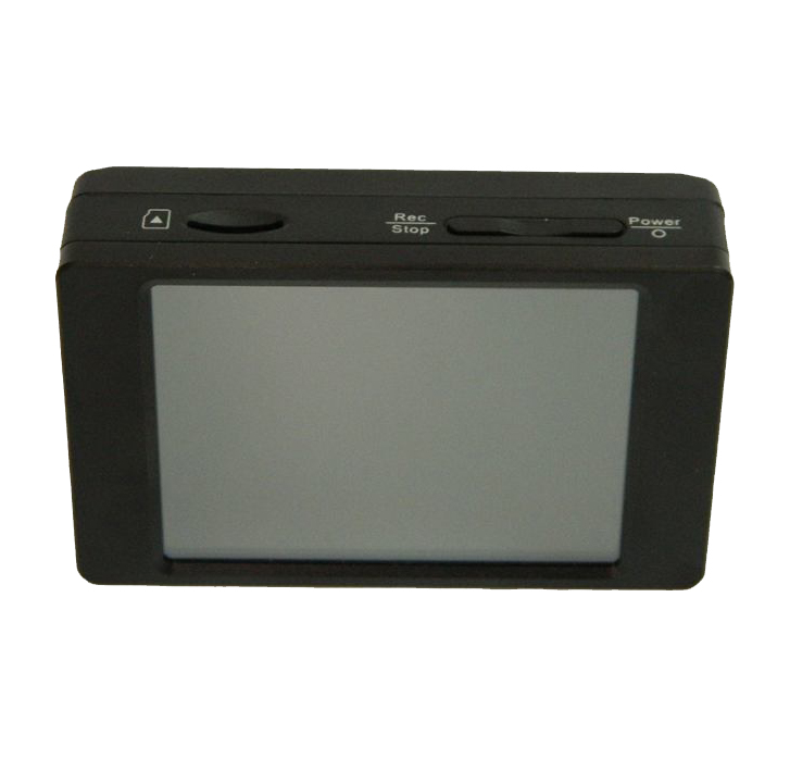 PV-500HDW Pro 1080P HD WiFi Mini DVR with LCD Touch Screen