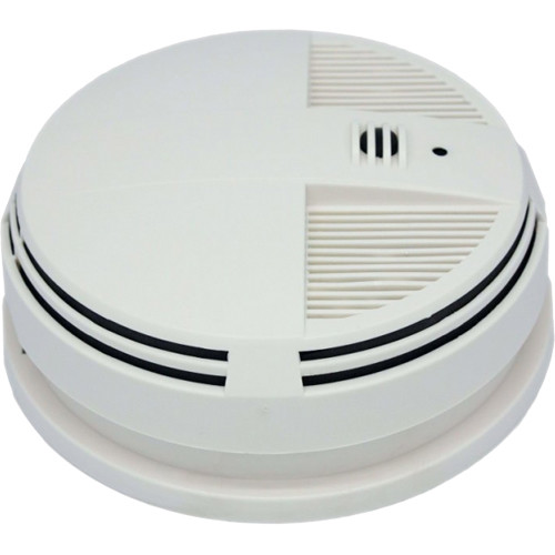 WiFi Smoke Detector Camera Battery Powered DVR (Side view)